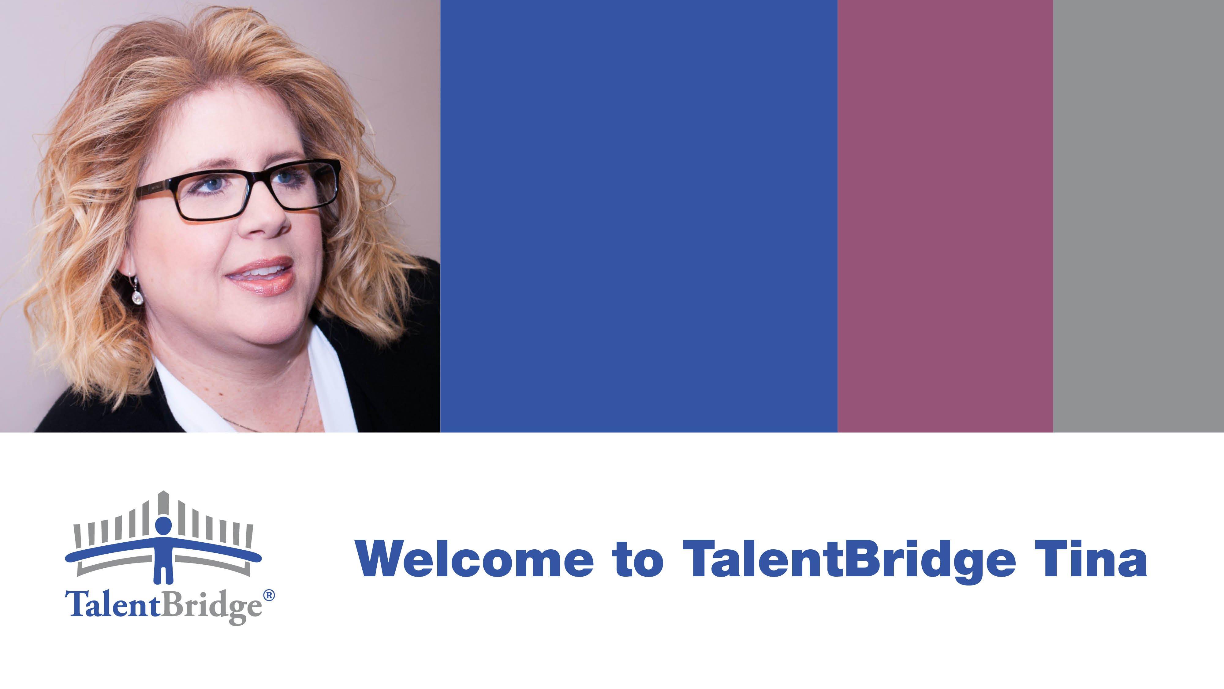 Tina Ruark-baker Joins The Talentbridge Team
